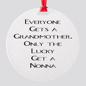 Nonna Round Ornament