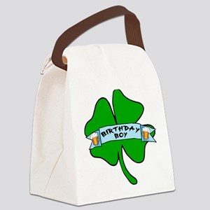 Irish Birthday Boy with Beer Canvas Lunch Bag