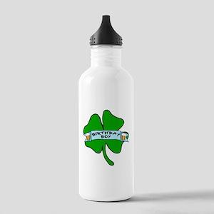 Irish Birthday Boy with Beer Stainless Water Bottl