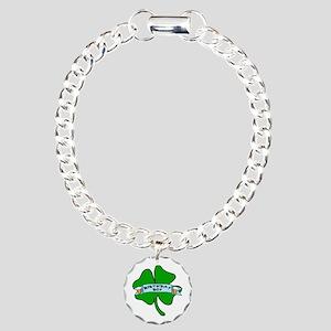 Irish Birthday Boy with Beer Charm Bracelet, One C