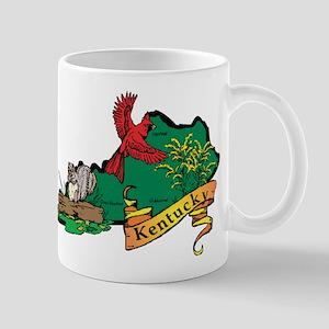 Kentucky Map Mug