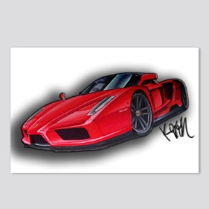Ferrari Enzo by Kiril Lykov Postcards (Package of