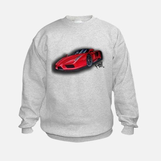 Ferrari Enzo by Kiril Lykov Sweatshirt