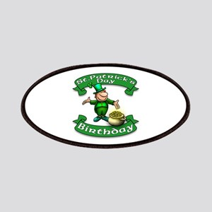 St. Patrick Birthday Leprechaun Patches