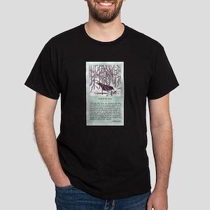 """Crow in the Snow"" Dark T-Shirt"