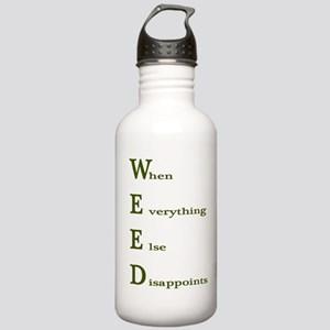 Weed Shirt Stainless Water Bottle 1.0L
