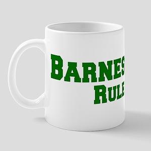 Barnesdale Rules! Mug