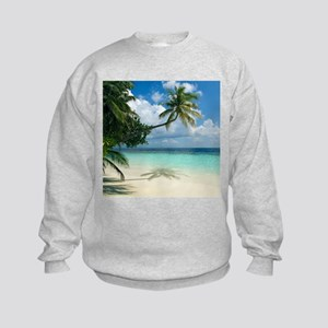 Tropical beach - Kids Sweatshirt