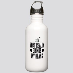 That Really Grinds My Beans Stainless Water Bottle