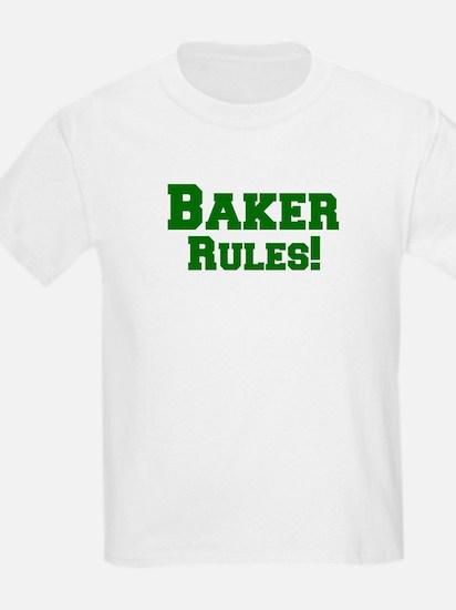 Baker Rules! Kids T-Shirt