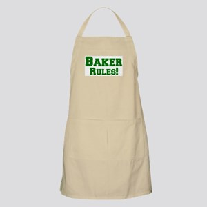 Baker Rules! BBQ Apron