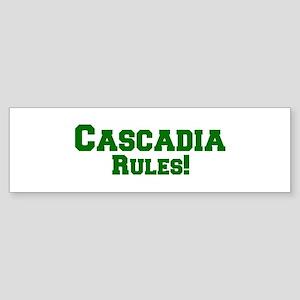 Cascadia Rules! Bumper Sticker