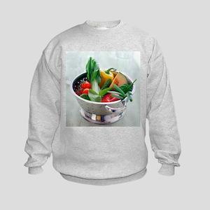 Fruit and vegetables - Kids Sweatshirt