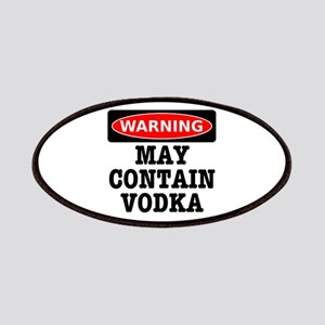 May Contain Vodka Patches