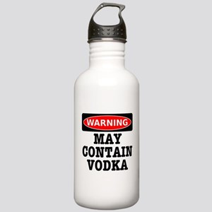 May Contain Vodka Stainless Water Bottle 1.0L