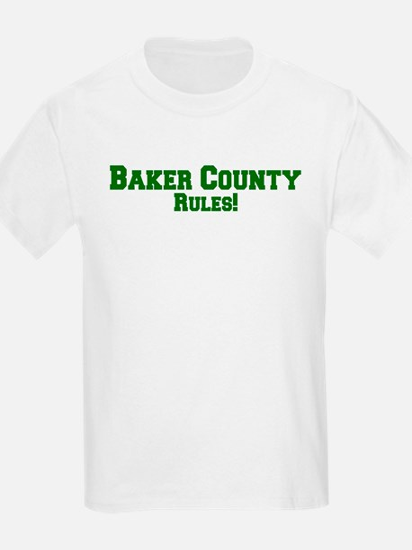 Baker County Rules! Kids T-Shirt