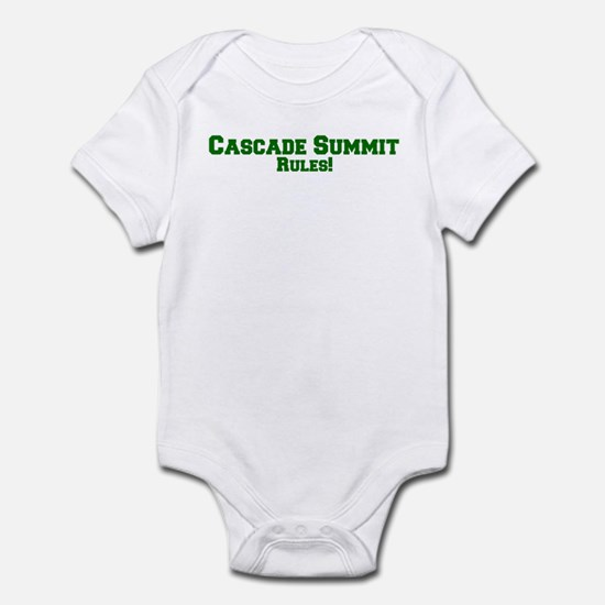 Cascade Summit Rules! Infant Bodysuit