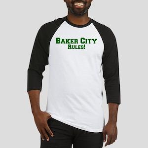 Baker City Rules! Baseball Jersey