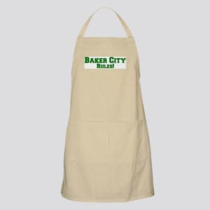 Baker City Rules! BBQ Apron