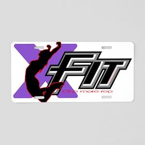 XFit Aluminum License Plate