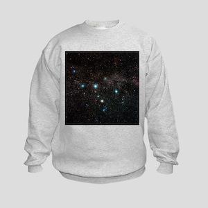 Cassiopeia constellation - Kids Sweatshirt