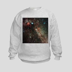 Milky Way in Cygnus - Kids Sweatshirt