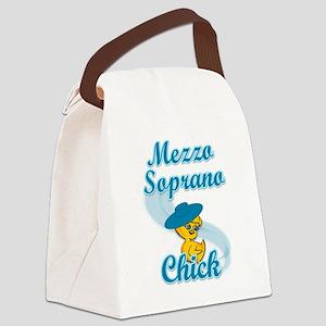 Mezzo Soprano Chick #3 Canvas Lunch Bag