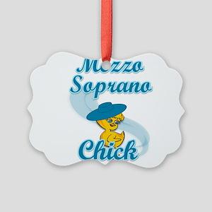 Mezzo Soprano Chick #3 Picture Ornament