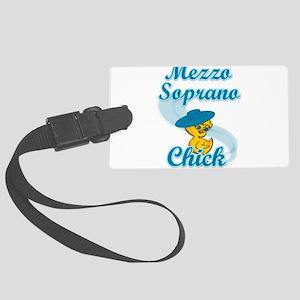 Mezzo Soprano Chick #3 Large Luggage Tag