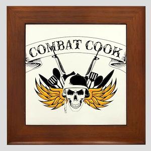 Combat Cook Framed Tile