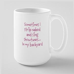 Showtunes Large Mug