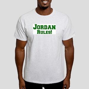 Jordan Rules! Ash Grey T-Shirt
