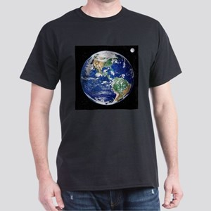 Earth from space, satellite image - Dark T-Shirt