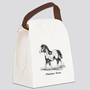 Miniature Horse Foal Canvas Lunch Bag
