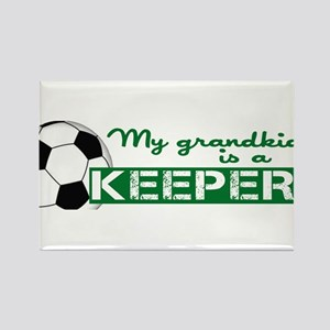 Proud grandparent of a soccer goalkeeper Rectangle