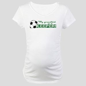 Proud grandparent of a soccer goalkeeper Maternity