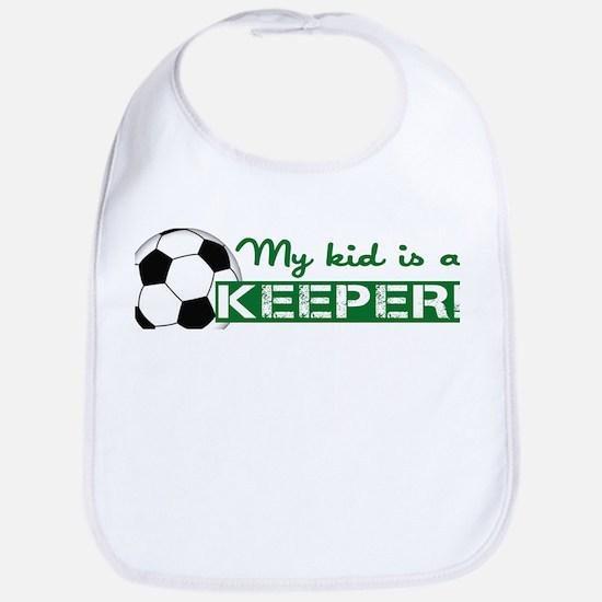 Proud Goalkeeper Parent Bib