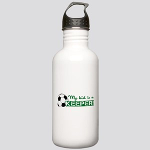 Proud Goalkeeper Parent Stainless Water Bottle 1.0