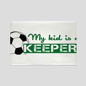 Proud Goalkeeper Parent Rectangle Magnet