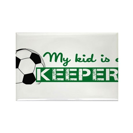 Proud Goalkeeper Parent Rectangle Magnet
