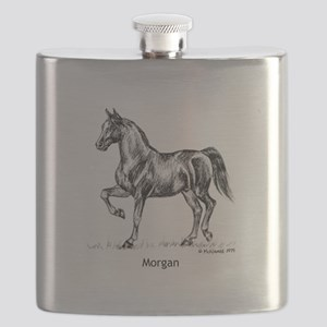 Morgan Horse Flask