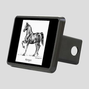 Morgan Horse Rectangular Hitch Cover