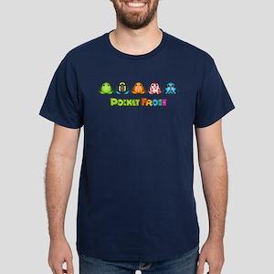 Pocket Frogs Logo Dark T-Shirt