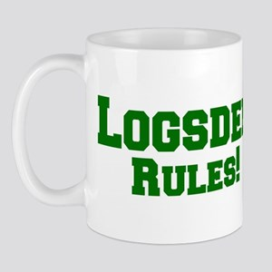 Logsden Rules! Mug