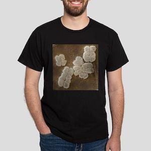 Human chromosomes, SEM - Dark T-Shirt