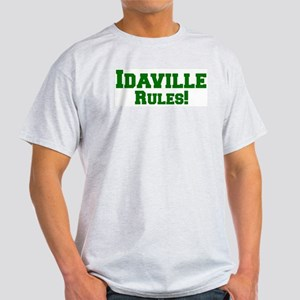 Idaville Rules! Ash Grey T-Shirt