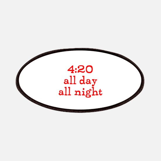 4:20 all day all night Patches