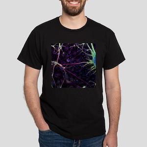 Nerve cell growth - Dark T-Shirt