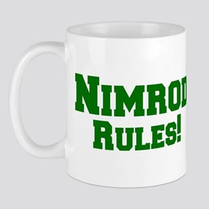 Nimrod Rules! Mug