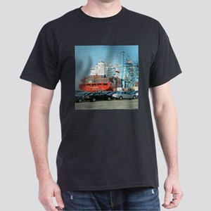 Container ship - Dark T-Shirt
